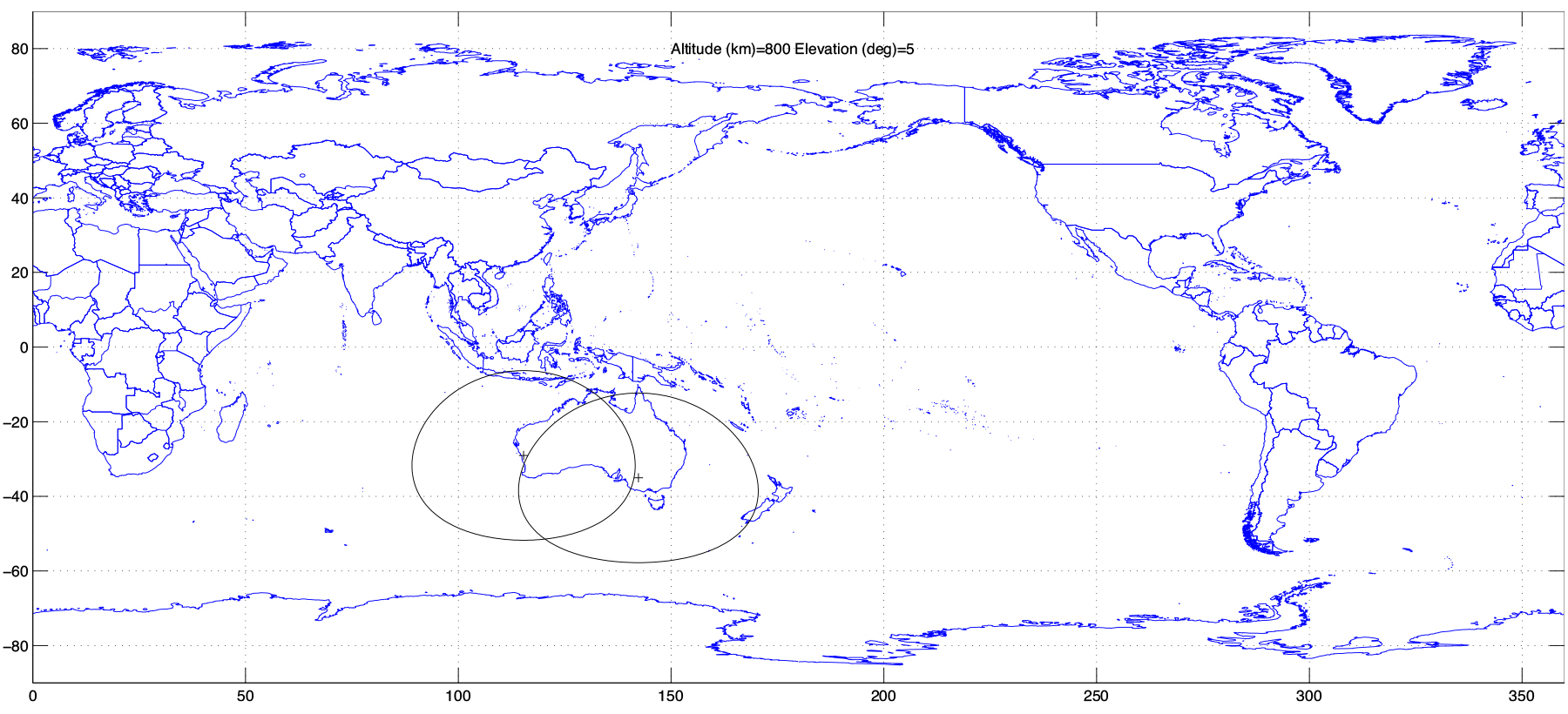 Capricorn Space Coverage Map